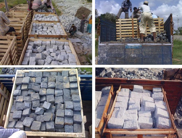 Granite Cobble Packing