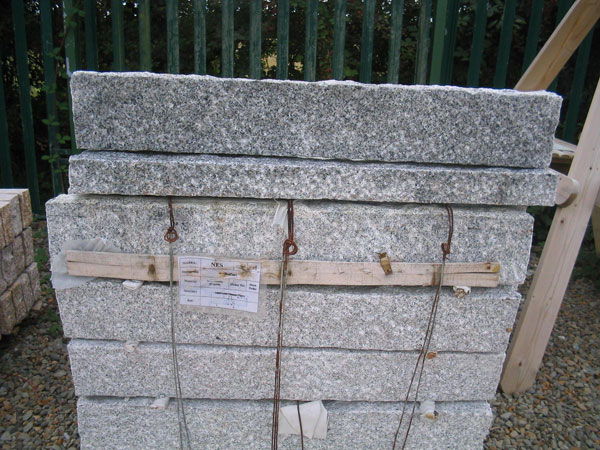 Grey Granite Kerbs